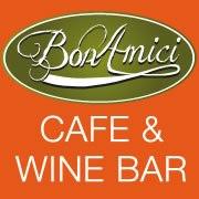 Bon Amici for wine, food, coffee & music